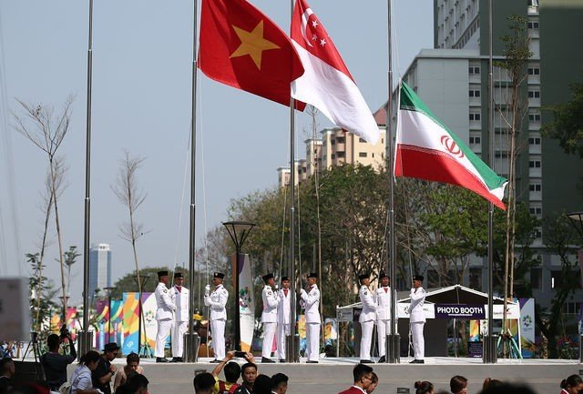 پرچم اهتزاز کشورها
