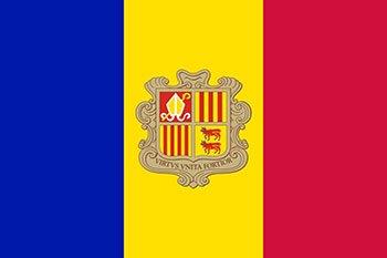 پرچم آندورا