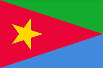 پرچم جبهه آزادی بخش خلق اریتره
