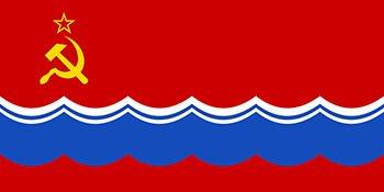 پرچم کشور استونی در سال های ۱۹۵۳ تا ۱۹۹۰