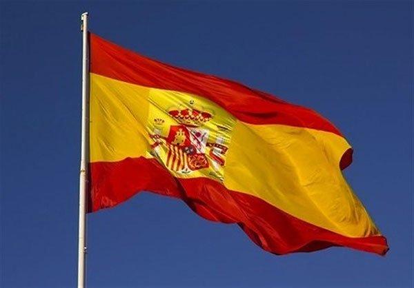 پرچم اهتزاز اسپانیا