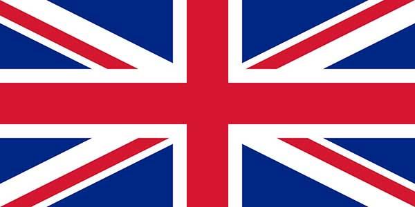 پرچم بریتانیای کبیر و ایرلند شمالی