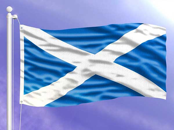 معرفی پرچم اسکاتلند