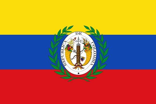 پرچم کلمبیای بزرگ